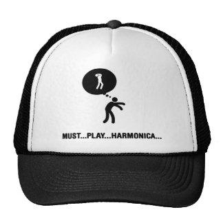 Jugador de la armónica gorros
