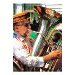 Jugador de la tuba comunicado