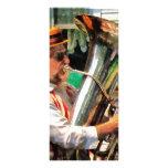 Jugador de la tuba plantillas de lonas