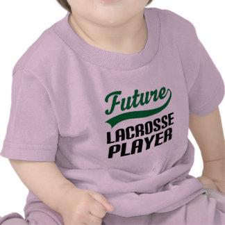 Jugador de LaCrosse (futuro) Camisetas