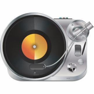 Jugador de música de DJ Fotoescultura Vertical