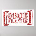 Jugador de Oboe Impresiones