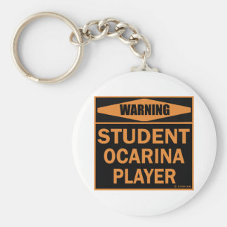 Jugador de Ocarina del estudiante Llavero