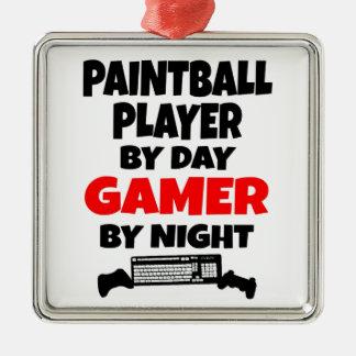 Jugador de Paintball del videojugador Ornamentos De Reyes