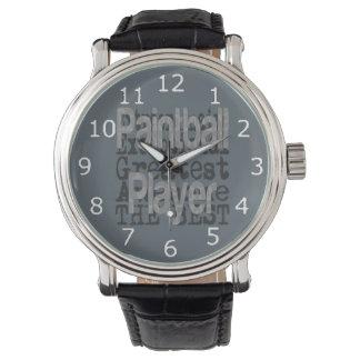 Jugador de Paintball Extraordinaire Reloj De Mano