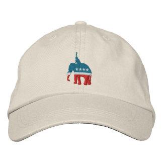 Jugador de polo republicano gorras bordadas