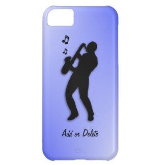 Jugador de saxofón funda para iPhone 5C