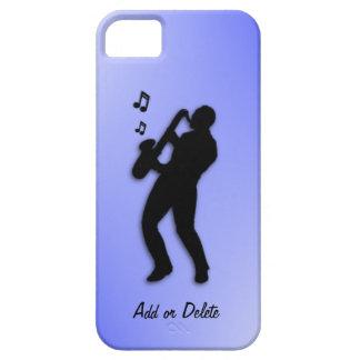 Jugador de saxofón iPhone 5 carcasas