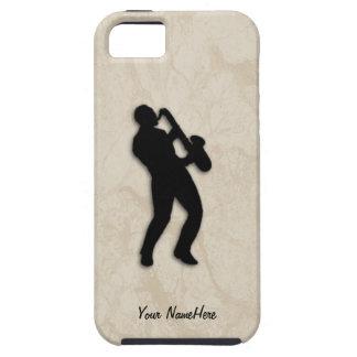 Jugador de saxofón iPhone 5 fundas