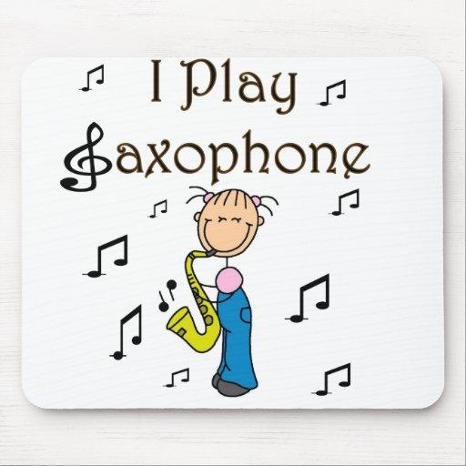 Jugador de saxofón Mousepad