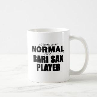 Jugador de saxofón normal de Bari Taza Clásica