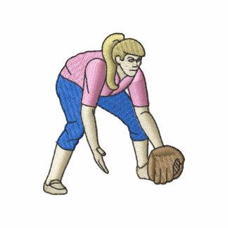 Jugador de softball de la mujer