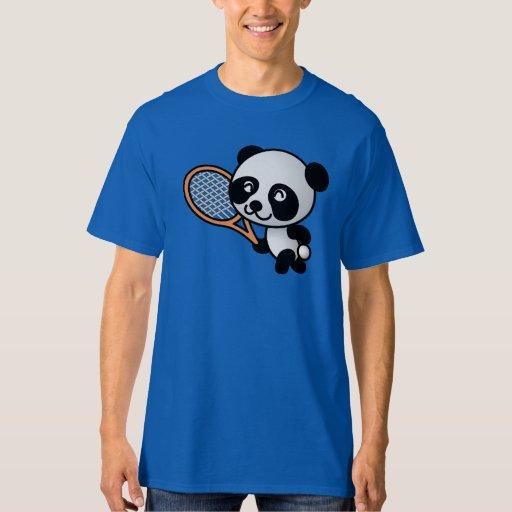 Jugador de tenis de la panda playeras