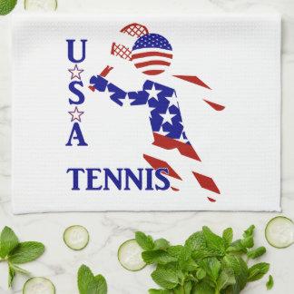 Jugador de tenis de los E.E.U.U. - el tenis de los Toalla De Mano