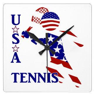 Jugador de tenis de los E.E.U.U. - el tenis de los Reloj