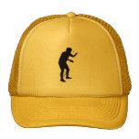 Jugador de tenis de mesa 2 gorras