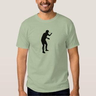 Jugador de tenis de mesa 2 polera