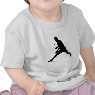 Jugador de tenis de mesa camisetas