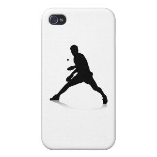 Jugador de tenis de mesa iPhone 4 cobertura