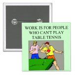 jugador de tenis de mesa pin