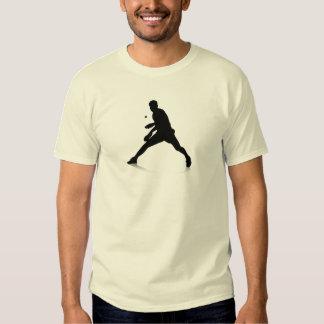 Jugador de tenis de mesa remera