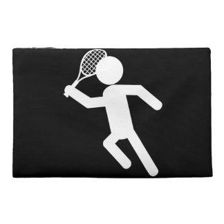 Jugador de tenis de sexo masculino - símbolo del t