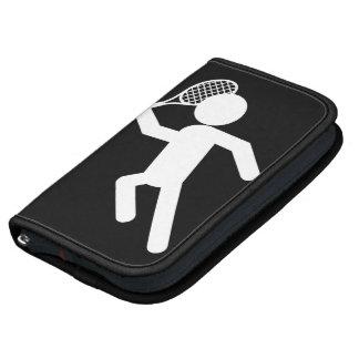 Jugador de tenis de sexo masculino - símbolo del t planificadores