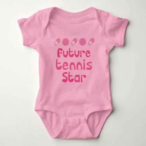 Jugador de tenis futuro (estrella) t shirt