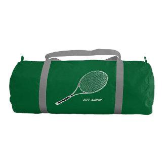 jugador de tenis personalizado bolsa de deporte
