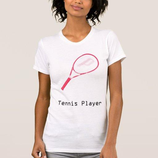 Jugador de tenis poleras