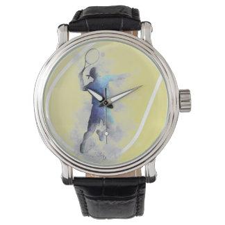 JUGADOR DE TENIS - reloj