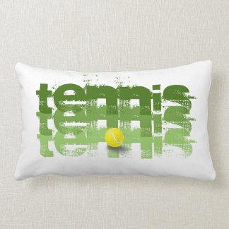 Jugador de tenis, viaje del tenis cojin