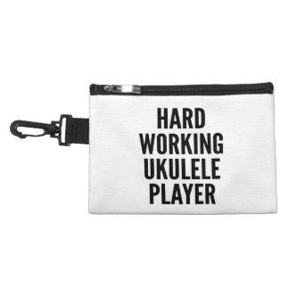 Jugador de trabajo duro del Ukulele