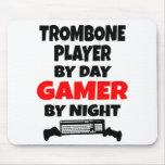 Jugador de Trombone del videojugador Alfombrillas De Ratón