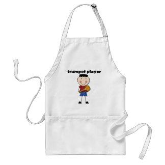 Jugador de trompeta - camisetas y regalos delantal