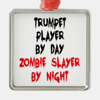 Jugador de trompeta del asesino del zombi ornamente de reyes