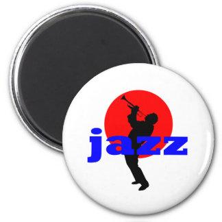 Jugador de trompeta del jazz iman