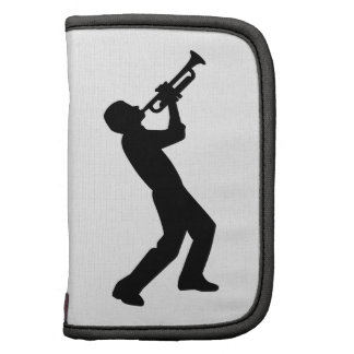 Jugador de trompeta organizadores