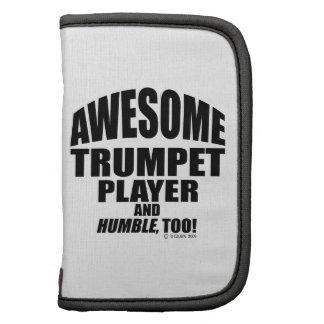 Jugador de trompeta impresionante planificadores