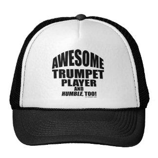 Jugador de trompeta impresionante gorra