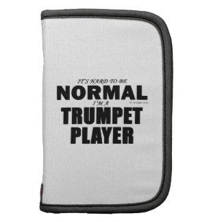 Jugador de trompeta normal organizadores
