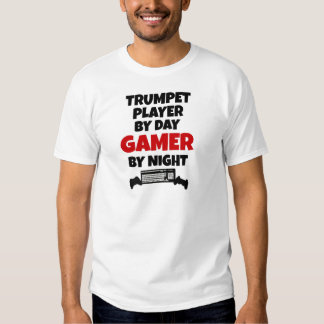 Jugador de trompeta por videojugador del día por polera