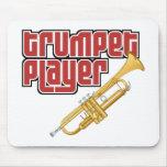 Jugador de trompeta tapetes de ratones