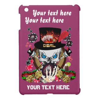 Jugador de Vegas todos los comentarios del artista iPad Mini Carcasa