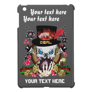Jugador de Vegas todos los comentarios del artista iPad Mini Carcasas