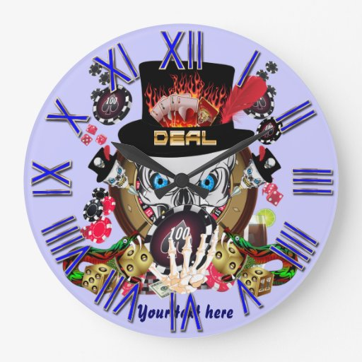 Jugador de Vegas todos los comentarios del artista Reloj Redondo Grande