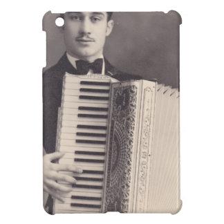 Jugador del acordeón del vintage