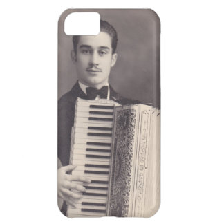 Jugador del acordeón del vintage carcasa para iPhone 5C