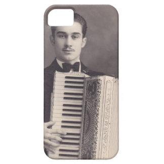Jugador del acordeón del vintage funda para iPhone SE/5/5s