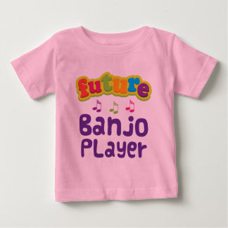 Jugador del banjo (futuro) remera